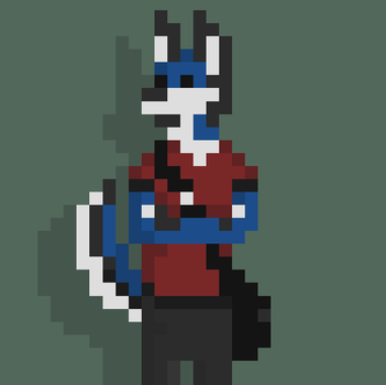Character Pixel Art by Thigoron
