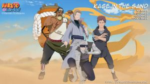 Kage in the sand by donaco