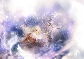 The Snow Queen.2.Gerda by smokepaint