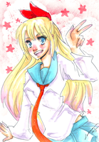 Quickly Chitoge by Lahara