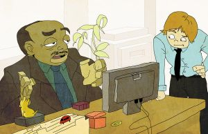 Stanly-The Office by reaperff7