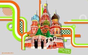 Saint Basil's Cathedral by sammy8a