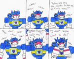 Soundwave and Hiccups by AutobotSparkyPrime