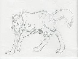 look hes got a spear XD by AkitaHaru