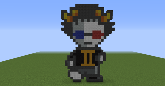 Sollux Captor in minecraft by firefollet