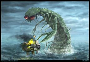 Revenge Of The Giant Shrimp by Vaghauk
