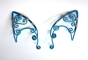 Blue and Silver Elf Ears 001 by Dabstar