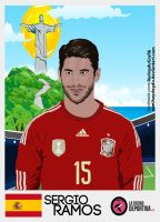 Sergio Ramos Vector Work by SemihAydogdu