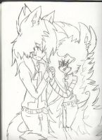 Holding Hands by MysticWarrior156