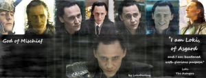 Loki of Asgard - Facebook cover by LuluDarling