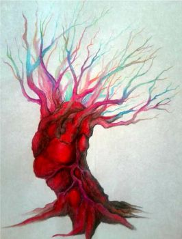 Heart tree by Flesh-ofthe-city