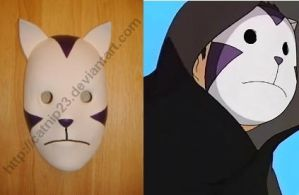 Purple Anbu Mask by catnip23