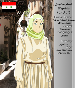 .:APH:. Syria by retiringtheredsheet