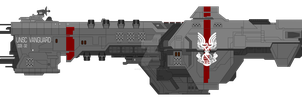 Vanguard-class destroyer by SplinteredMatt