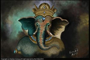 Digital Ganesh by eeshan123
