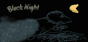 Black night book cover by KittySam