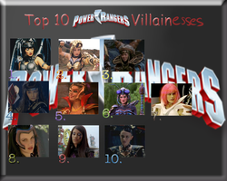 My Top 10 PR Villainesses by MiharuWatanabe