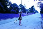 sister with dog by kerrybush42