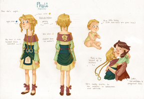 Pheli reference sheet by onone-chan
