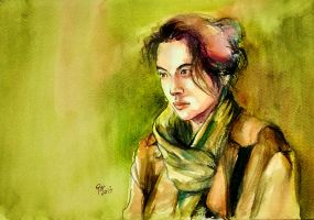 Portrait of tang wei by young920