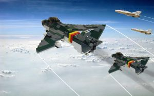 Junkers EF-1000 -Thor- Fighter by Einon88