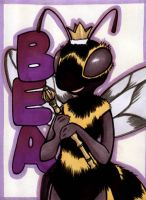 Bea Badge by temperance