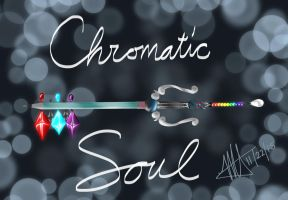 My Chromatic Soul Keyblade by MNS-Prime-21