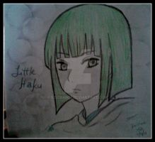 Haku drawing by keichan77