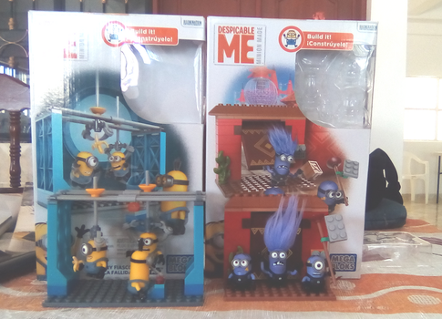 Mega Bloks DM Factory Fiasco and Fortress Break in by Jarquin10