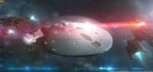 Attacking Voyager by Euderion