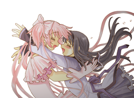 Madoka Magica_Now I'm Home by Arwen-chan