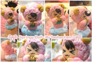 Clay - Springy Sheep Doll by TashaChan