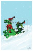 Christmas Card 2012 by Dragon-Factor