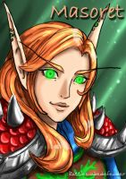 WoW Portrait by DragonCid