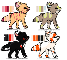 Pup Batch 1 (one left!price lowered) by F0XXIE