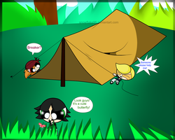 RowdyRights on a camping trip by snowflake95