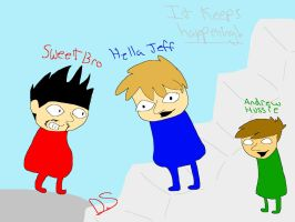 Hella Jeff and Sweet Bro + Andrew Hussie by 2-DimensionalNerd