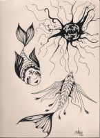 Very overdue tattoo designs by Kngfishergrl