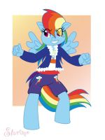 ::-Rainbow Dash Always Dresses in Style-:: by Starimo