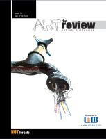 Art Review Cover Option by karimshaaban