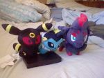 More plushies. by evilefoserp