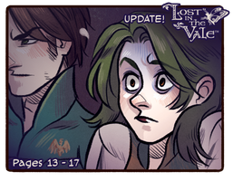 Lost in the Vale - Chapter 1 - Pages 13 - 17 UP! by CrystalCurtis