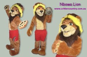 Nbowa Fursuit by ozkangaroo