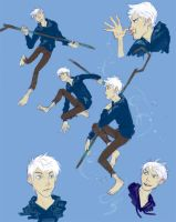 Jack Frost Doodles by Admantius