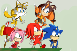 Sonic Boom:. by GothicSnowflake