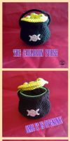 Cauldrone Purse Crochet Magic by Tofe-lai