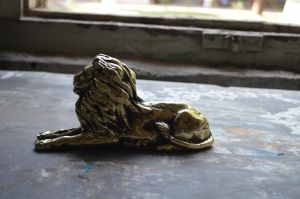 Brass Lion by wasifhussain