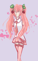 Sakura Miku by gloomystrawberries