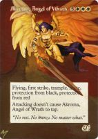Akroma, Angel of Wrath alter by MimiMunster