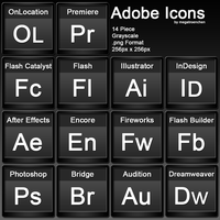 Adobe Iconpack by Megatroenchen
